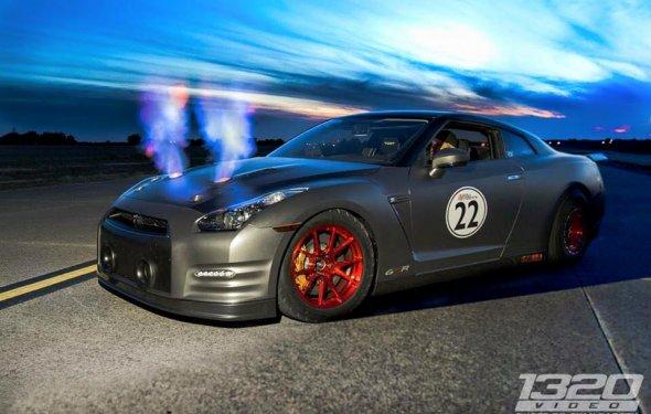 2,276 HP Nissan GT-R