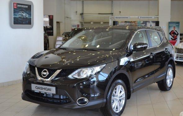 New Nissan Qashqai в наличии в