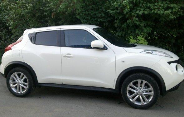 Nissan Juke Black/White