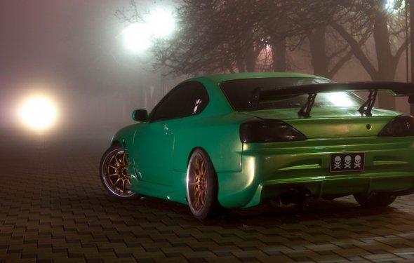 Nissan Silvia (S15) Левый руль