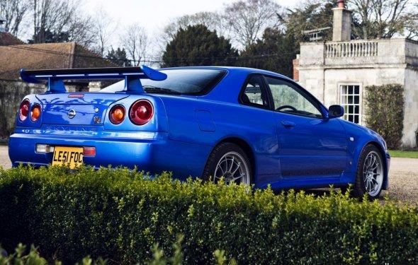 Ниссан GTR 34