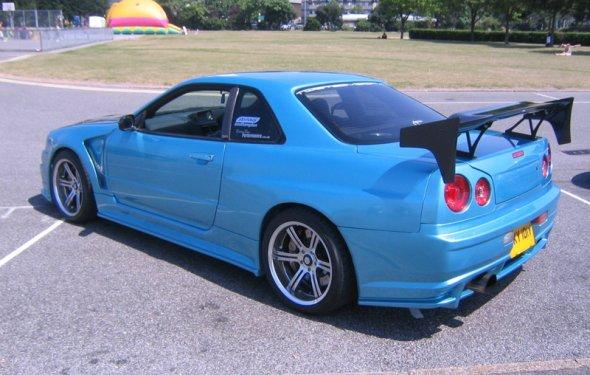 Nissan skyline gtr r34 цена