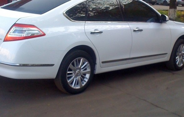 Nissan Teana 2011 — отзыв