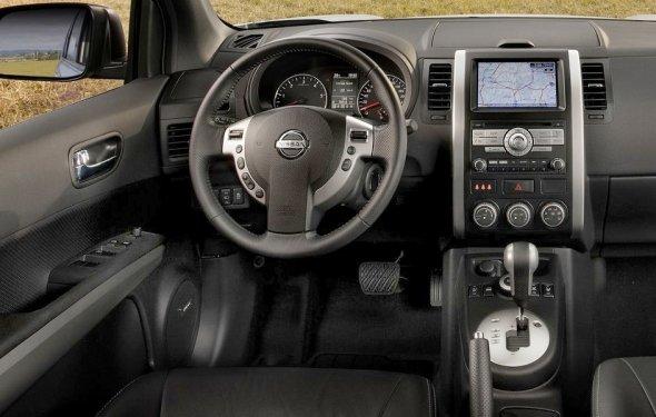 Nissan x trail клиренс фото