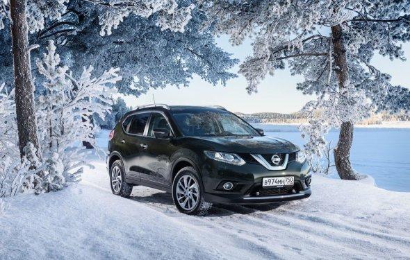 Клиренс нового Nissan X-Trail