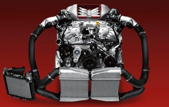 Двигатель GT-R